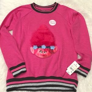 Disney Trolls Girls Pullover Sweater XL(14-16)